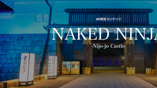 Naked Ninja - A New Virtual Reality Experience from Kyoto's Nijojo Castle