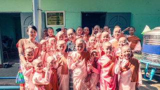 Mirai Support looks to bridge Japan and Myanmar by Funding the Salween Yadanar Monastery...