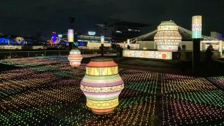 2020東京冬季點燈:大井競馬場TOKYO MEGA Illumination 極光下與馬兒穿越時空