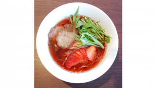 Strawberry Ramen Is Japan's Most Unexpected Spring Strawberry Season Treat
