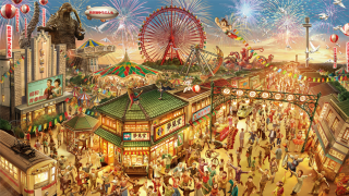 Seibuen Amusement Park Is Renovating, with Godzilla, Astro Boy, and Other Classic...