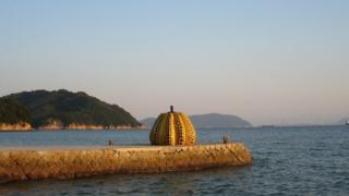 나오시마의 상징인 '이것'이 태풍으로 손상