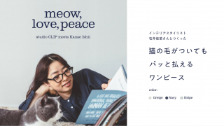 Love Your Cats, but Tired of All the Fur? Japanese Brand Makes Easy Dust-Off Dresses for...